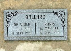 Paris Ballard