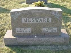 Anna L <i>Stoffregen</i> Meswarb