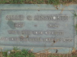 Sallie C Ainsworth