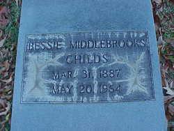 Lula Bessie Bessie <i>Middlebrooks</i> Childs