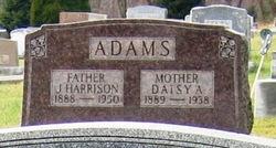 Daisy A <i>Stager</i> Adams