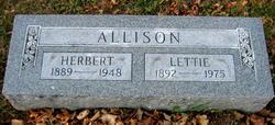 Lettie I <i>Bostedo</i> Allison