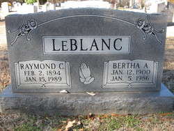 Bertha <i>Astor</i> LeBlanc