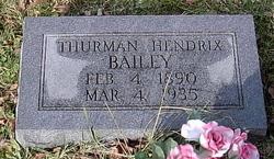 Thurman Hendrix Bailey