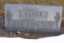 Lois Laura <i>Anderson</i> Asher