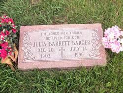 Julia <i>Barrett</i> Barger