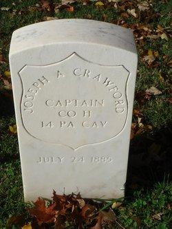 Capt Joseph A Crawford