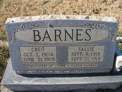 Sallie Barnes