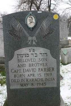 Capt David Farber