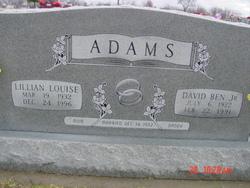 Lillian Louise <i>Renfroe</i> Adams