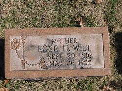 Rose Elizabeth <i>Holland</i> Wilt