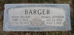 Pearl <i>Nelson</i> Barger