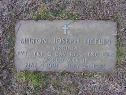 Milton Joseph Heflin