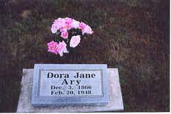 Dora Jane <i>Scoggins</i> Ary