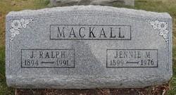 Jennie Mae <i>Allison</i> Mackall