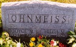 Joyce Marie Ohnmeiss