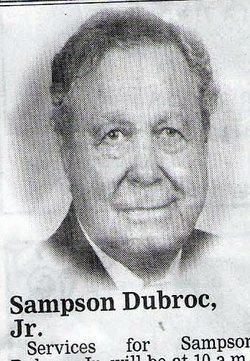 Sampson June Dubroc, Jr