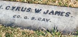 Cyrus W. James