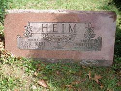 Susie <i>Bieri</i> Heim