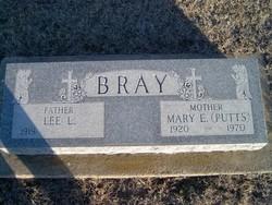 Mary Elizabeth Puttsey <i>Curtis</i> Bray
