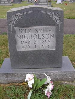 Inez <i>Smith</i> Nicholson