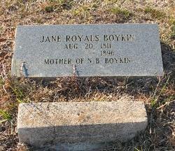 Jane <i>Royals</i> Boykin