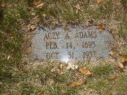 Acey A. Adams