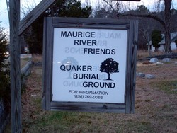 Maurice River Friends Quaker Burial Ground
