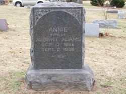 Annie <i>Anderson</i> Adams