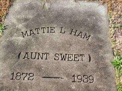 Mattie L. Ham