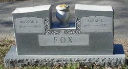 Sarah Louisea Fox