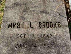 Mrs I. L. (Ella?) Brooks