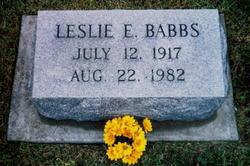 Leslie Engene Babbs