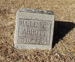 Maj Elisha Gee Abbott
