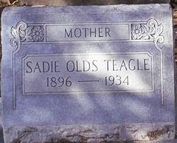 Sadie Elizabeth <i>Olds</i> Teagle