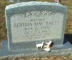 Bertha May <i>Dobbs</i> Bailey
