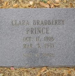 Clara Bradberry Prince
