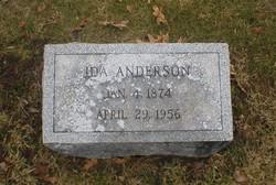 Ida Anderson