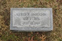 Alfred E Anderson