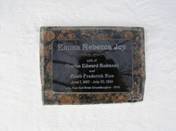 Emma Rebecca Redmond <i>Joy</i> Rice