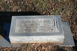 Gladys <i>Colson</i> Hand Avery