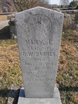 Mary E. <i>Lamb</i> Barnes