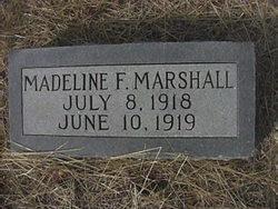 Madeline F Marshall