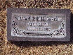 William Preston Bill Garrett