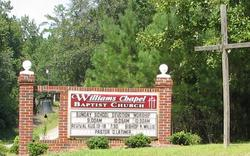 Williams Chapel Baptist Church Cemetery
