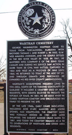 Warthan Cemetery