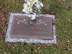 Peggy Ann Mayo