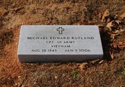 Capt Michael Edward Rutland