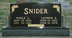 Luther E. Snider