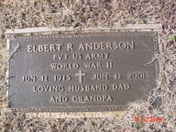 Elbert Riley Anderson
